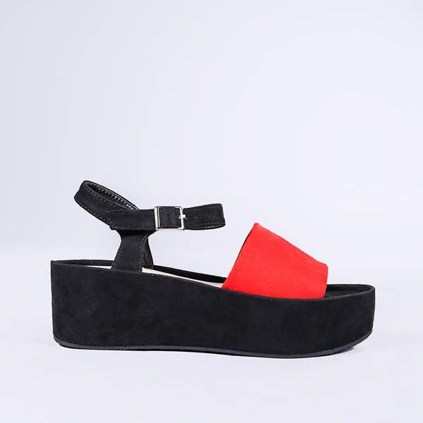 Sandale dama Adrianne rosii