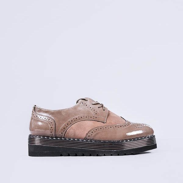 Pantofi casual dama Allyson khaki