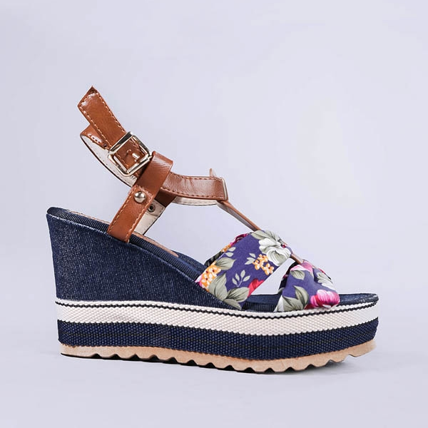 Sandale dama Carlita albastre