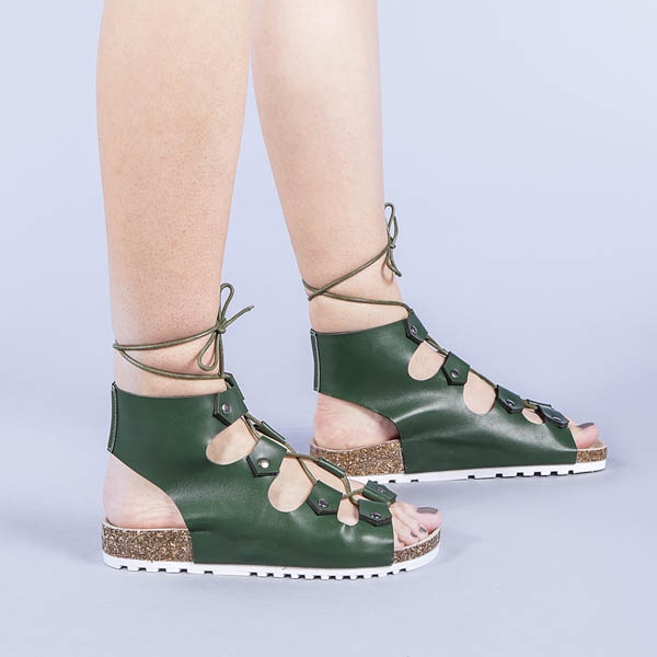 Sandale dama Cybele verzi