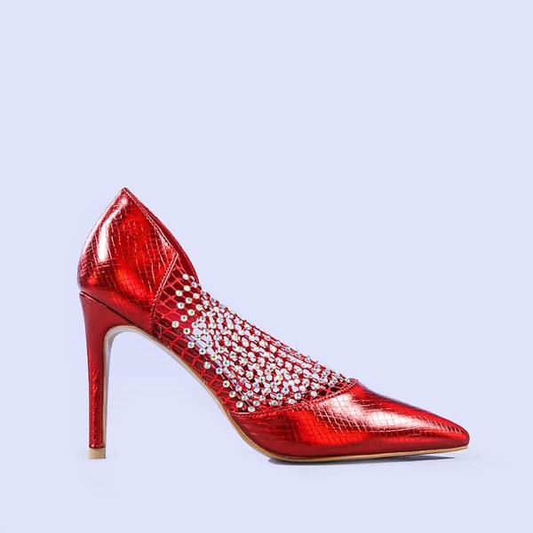 Pantofi dama Meda rosii