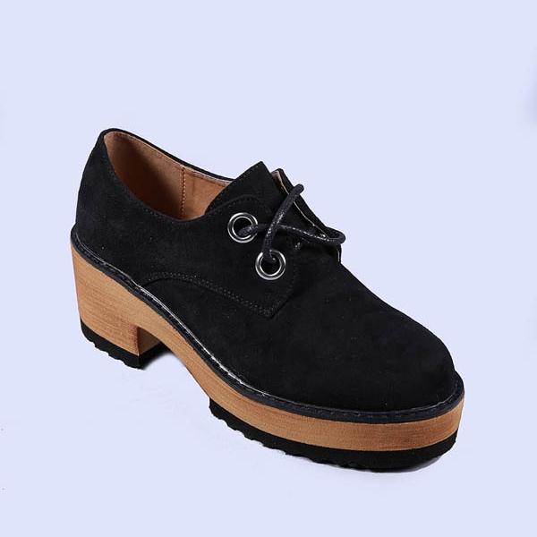 Pantofi casual dama Hadley negri