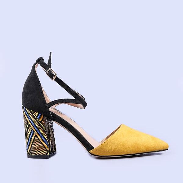 Pantofi dama Tess galbeni