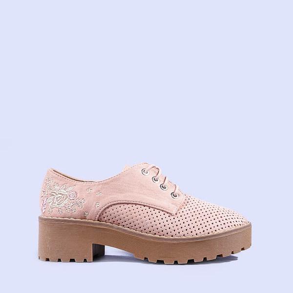 Pantofi casual dama Nazira fuchsia