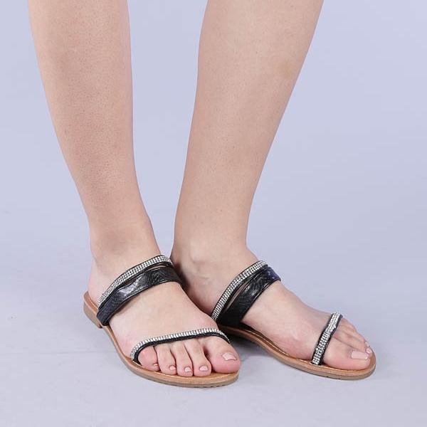 Papuci dama Aurora negri