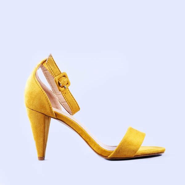 Sandale dama Diana galbene