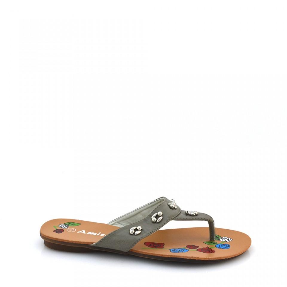 Papuci Dama Camelia Gri