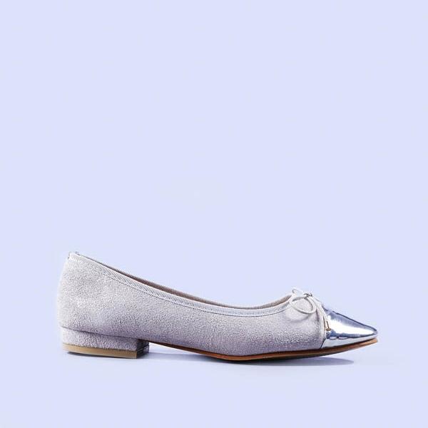 Balerini dama Cristina argintii