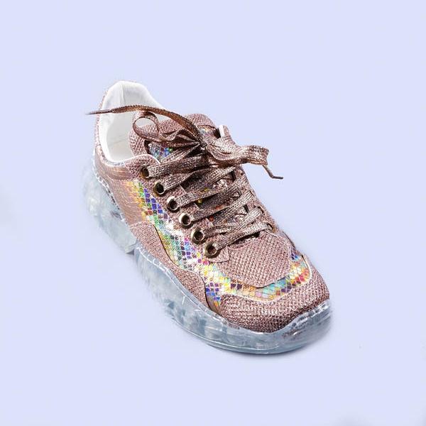 Pantofi sport dama Miroslava champanie