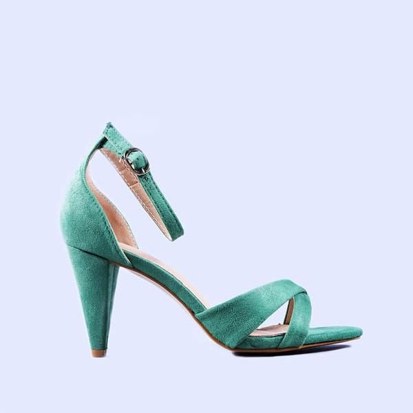 Sandale dama Adela verzi
