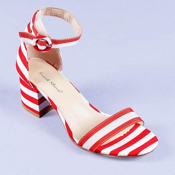 Sandale dama Agnes rosii