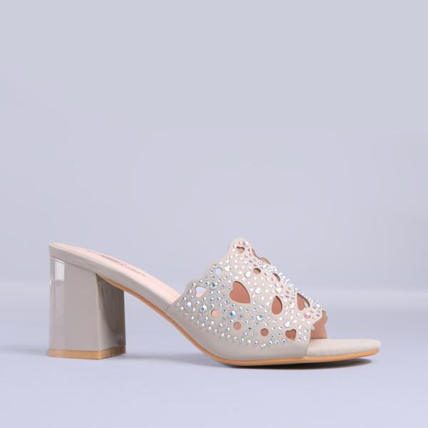 Papuci dama Marcela gri