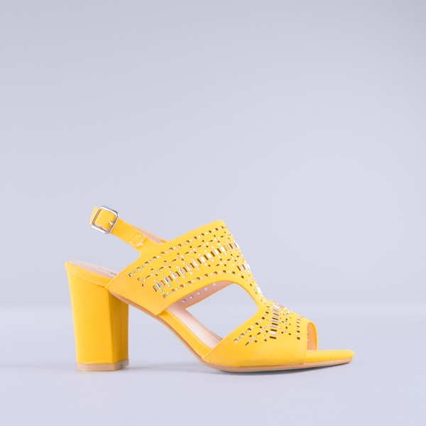 Sandale dama Manuela galbene