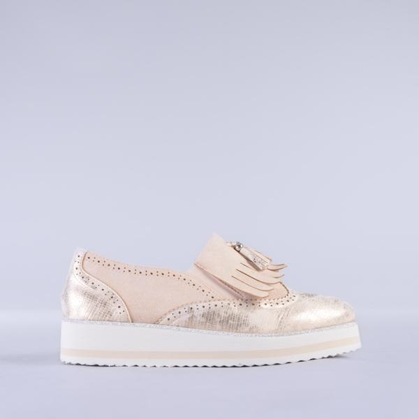 Pantofi dama Calida bej