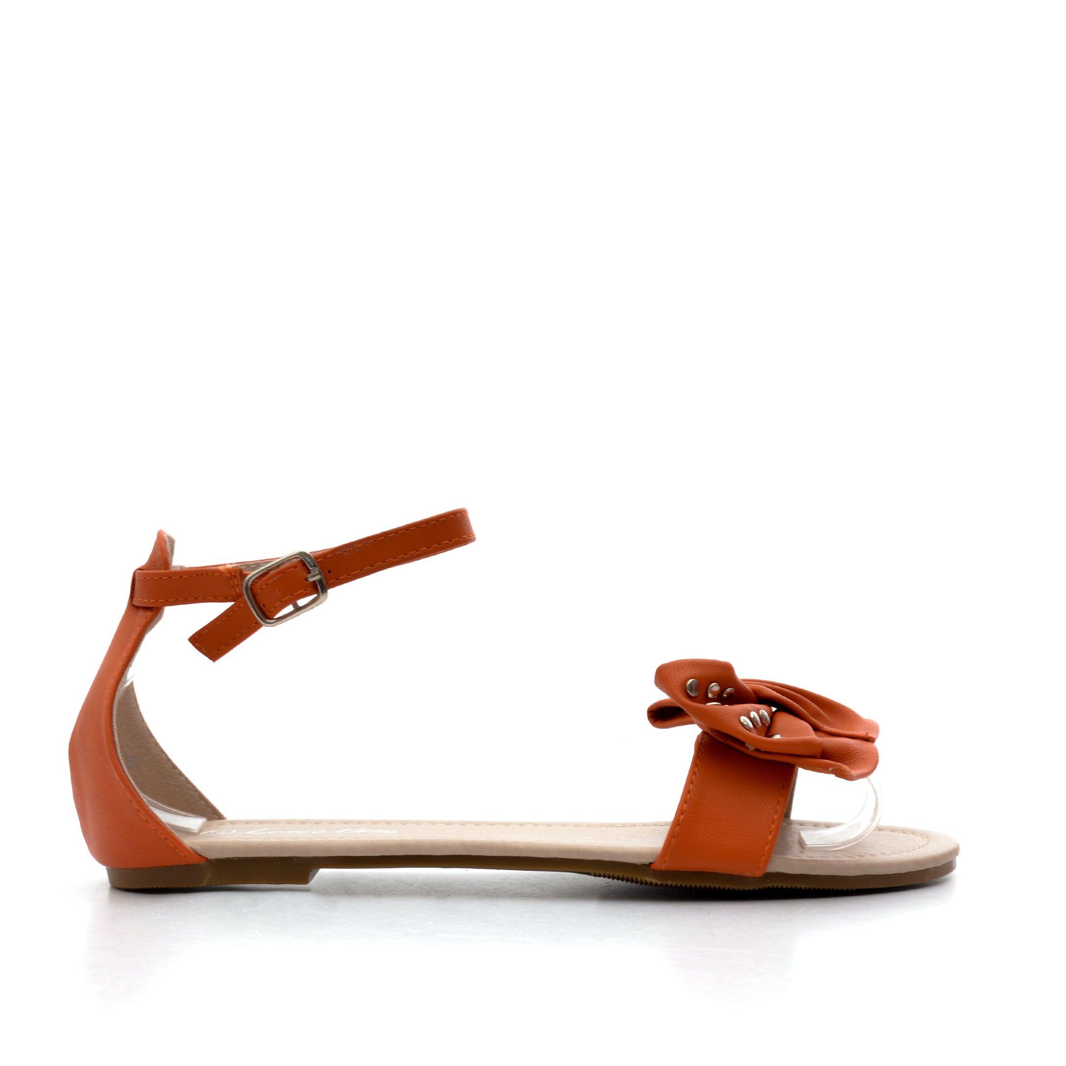 Sandale dama Liana 1 portocalii