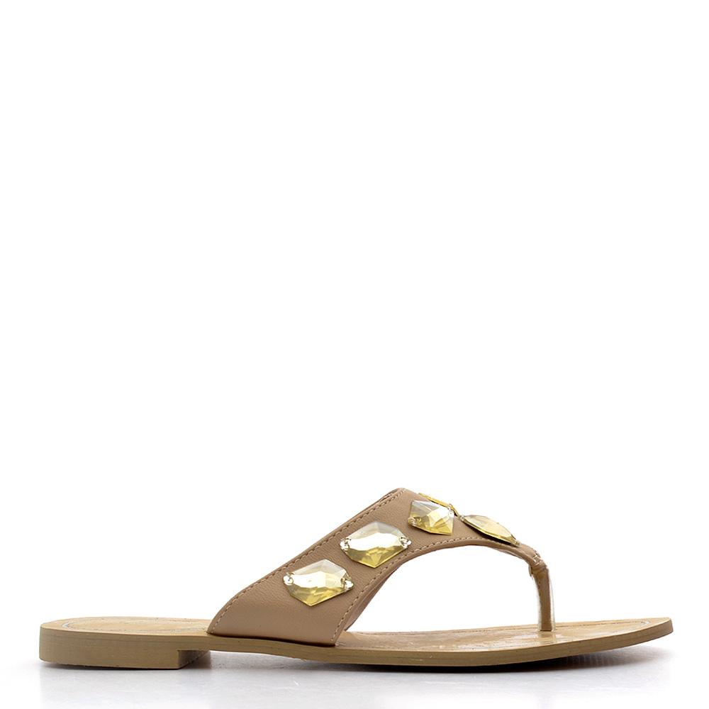 Papuci dama Liana 2 camel
