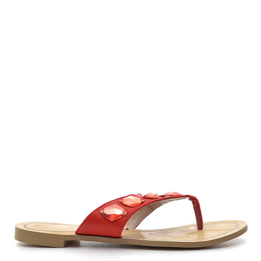Papuci dama Liana 2 rosii
