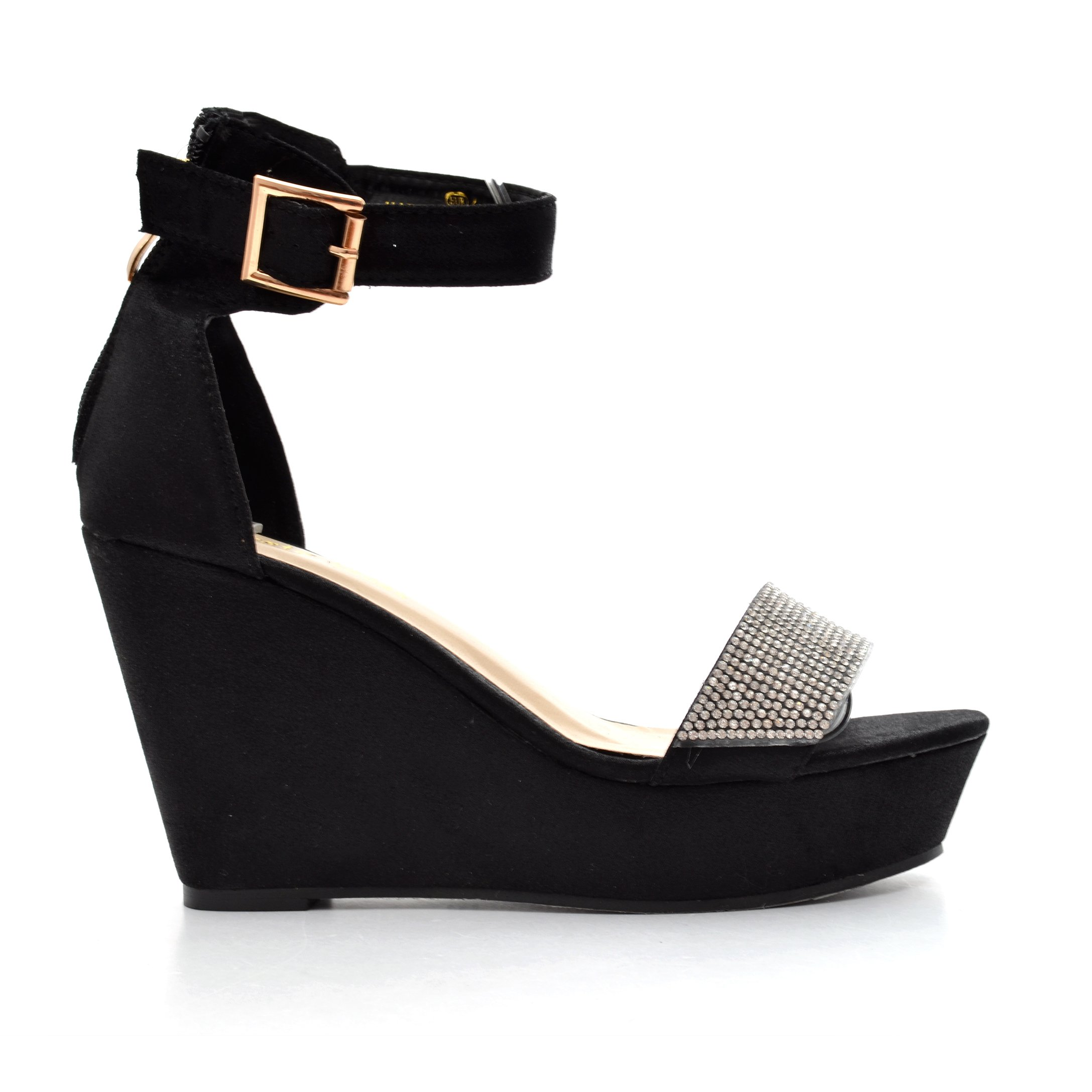 Sandale dama Ally negre