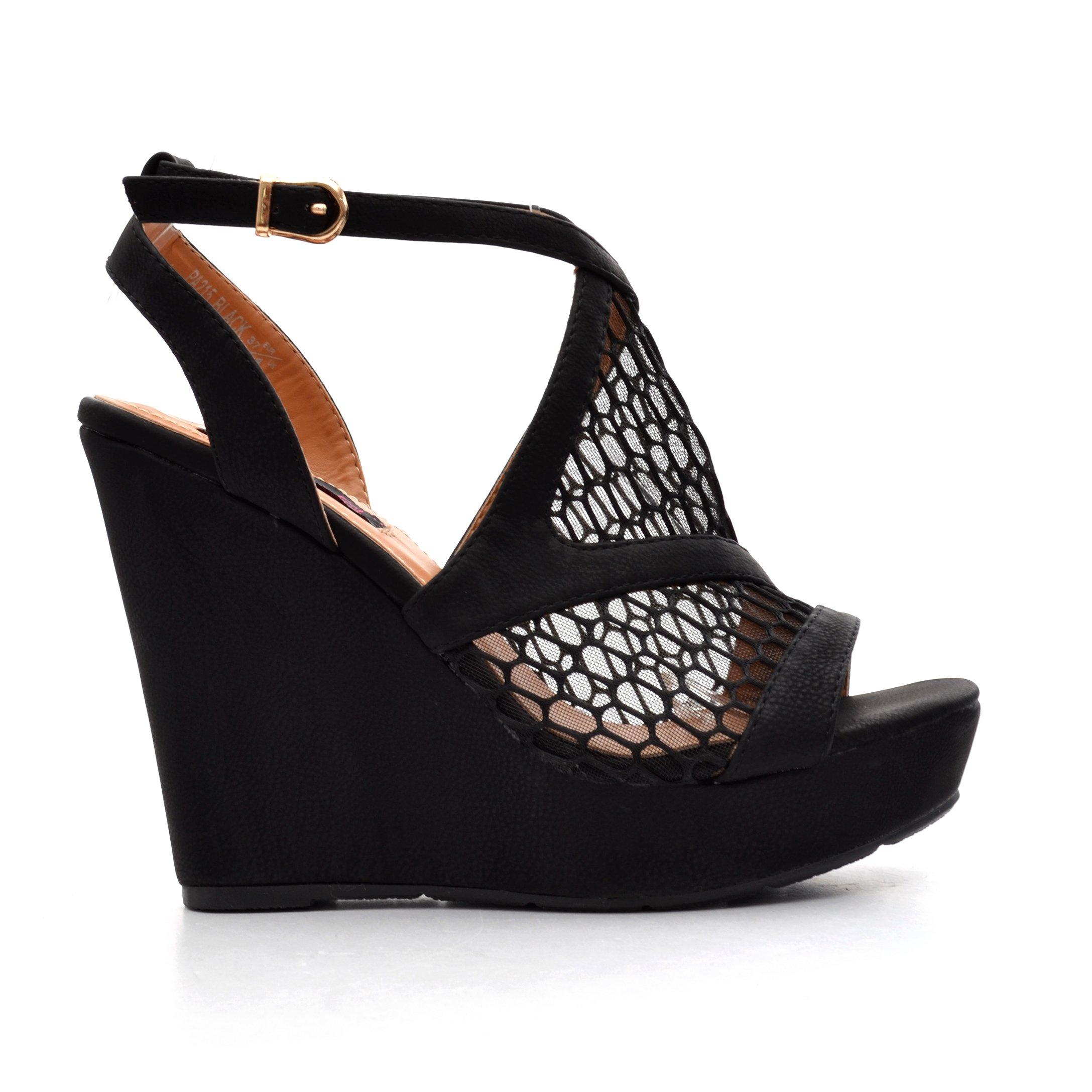 Sandale dama Hadley negre