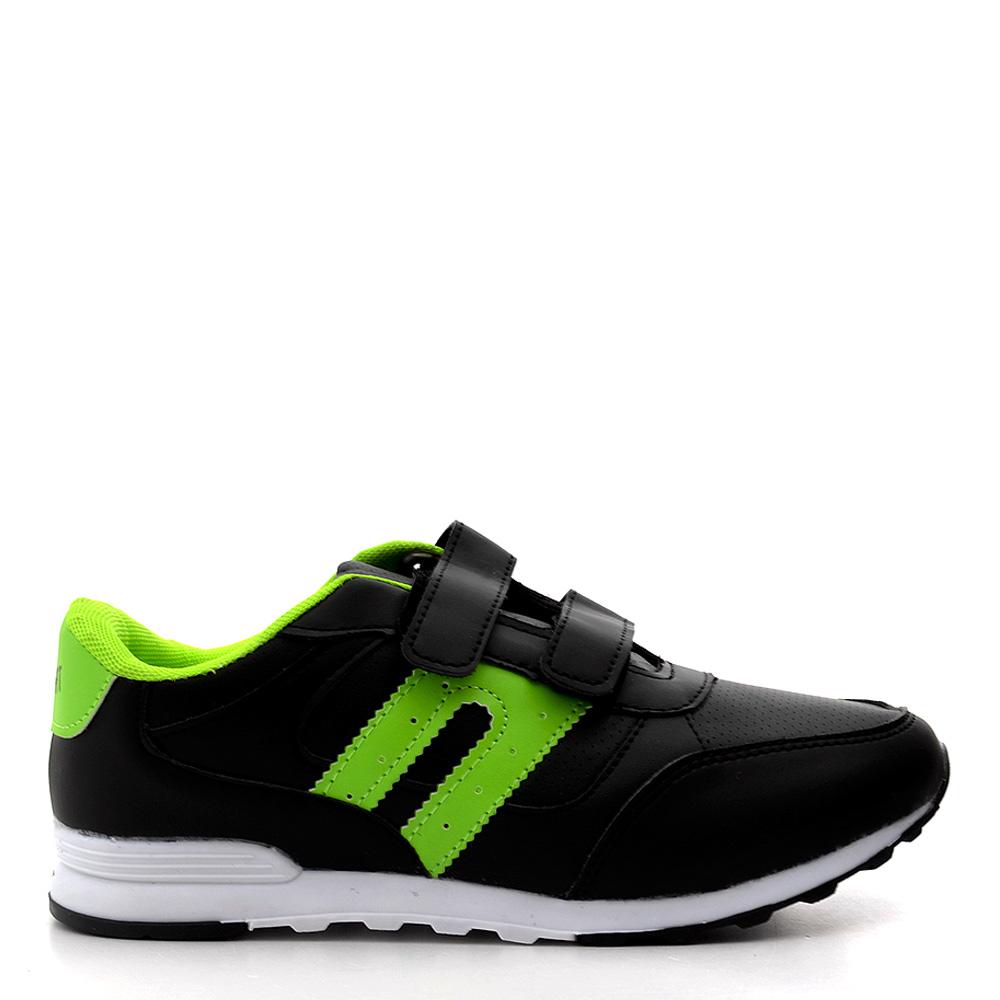 Pantofi sport dama Josh 4 negri cu verde