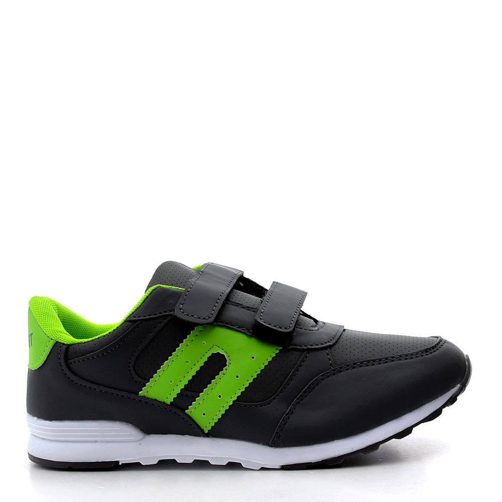 Pantofi sport dama Josh 4 gri cu verde