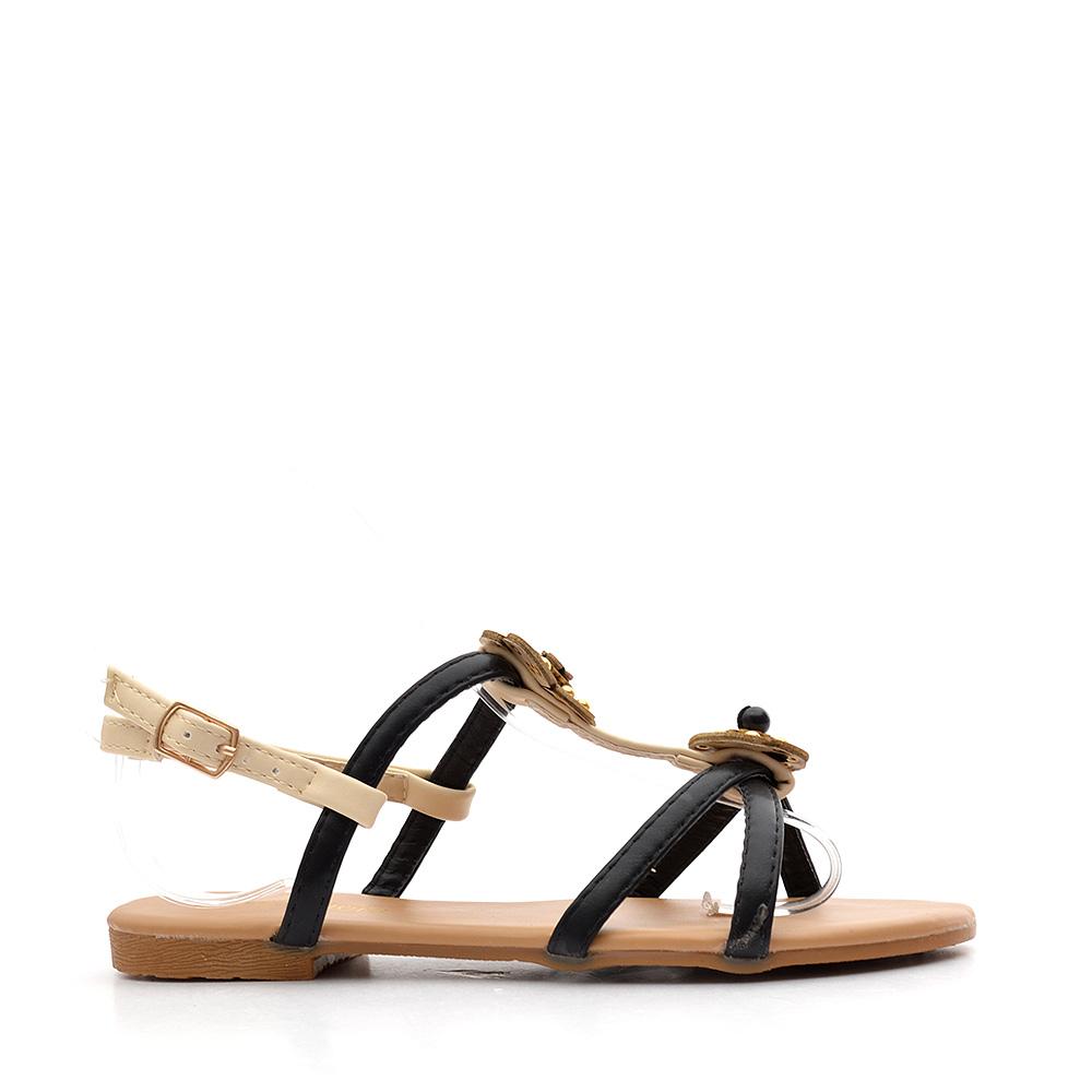 Sandale copii Monika negre