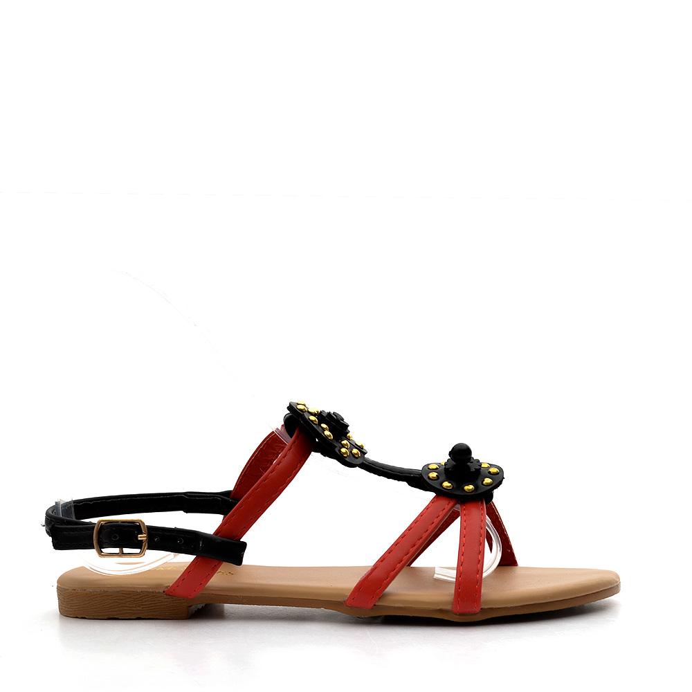 Sandale copii Monika rosii