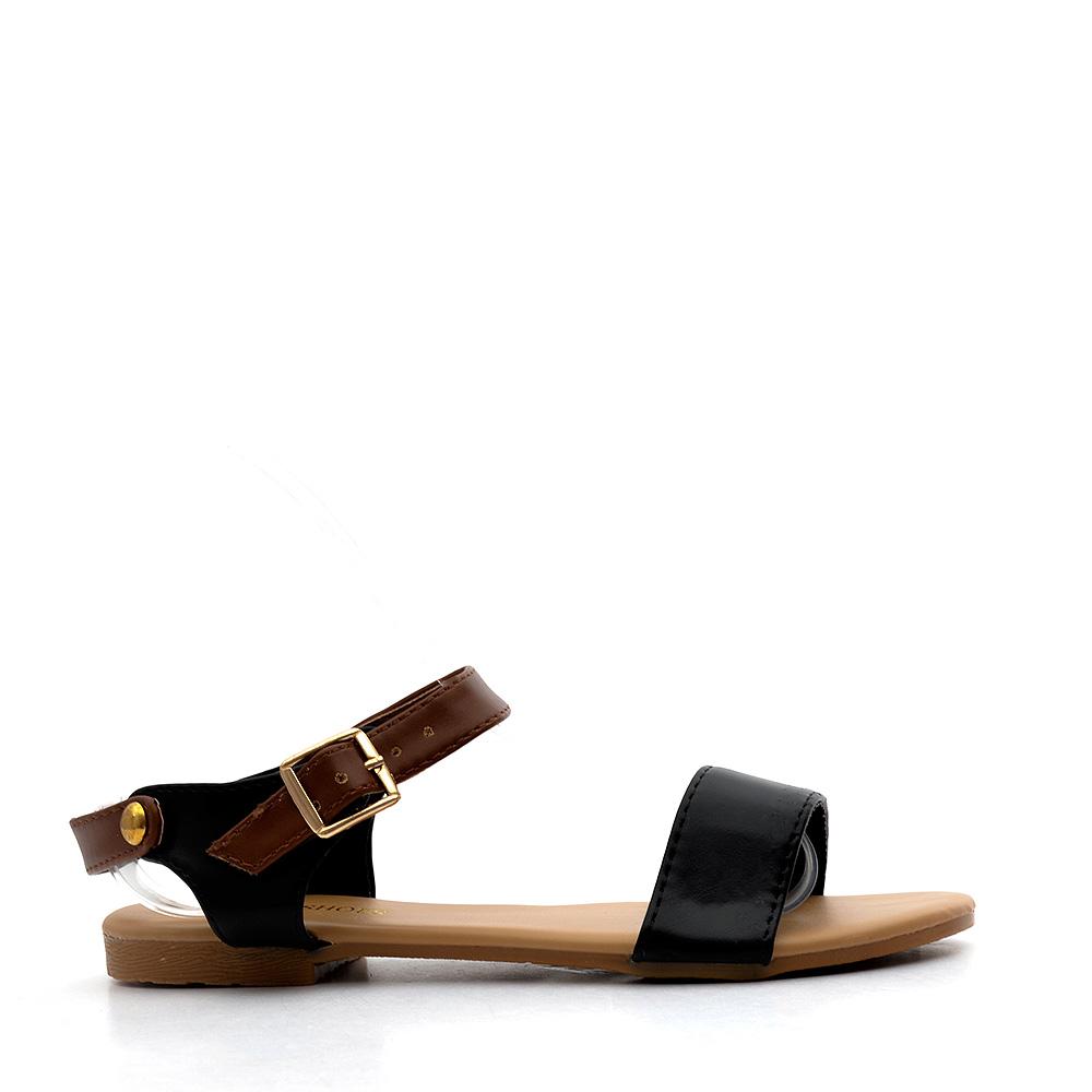 Sandale copii Britt negre