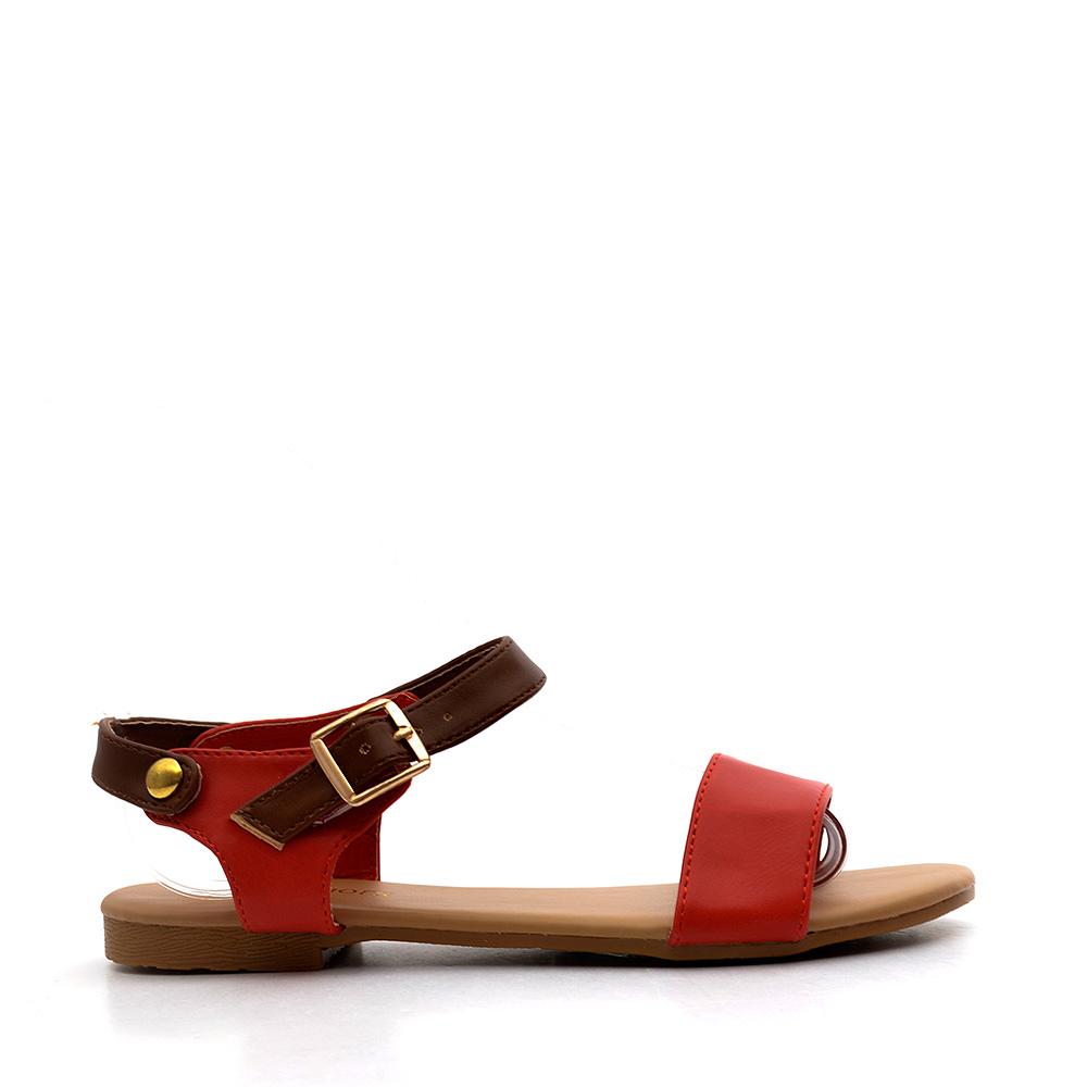 Sandale copii Britt rosii
