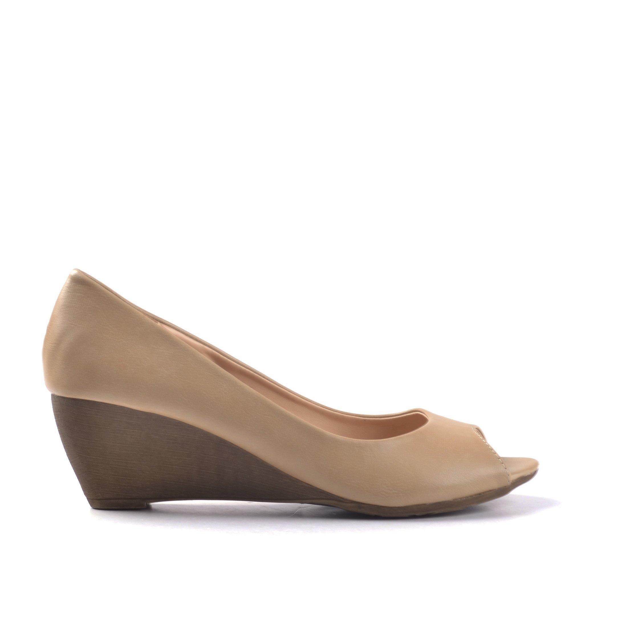 Pantofi dama Callie bej