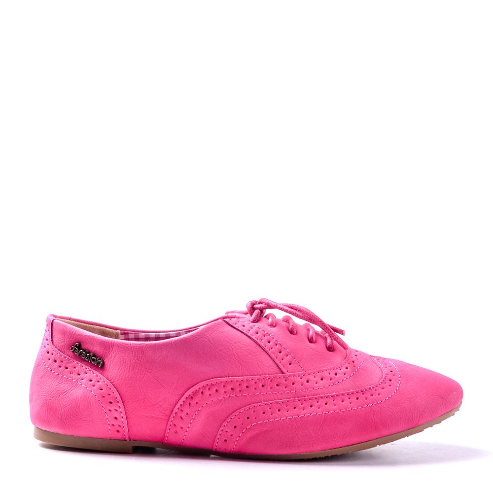 Pantofi dama Leena fucsia