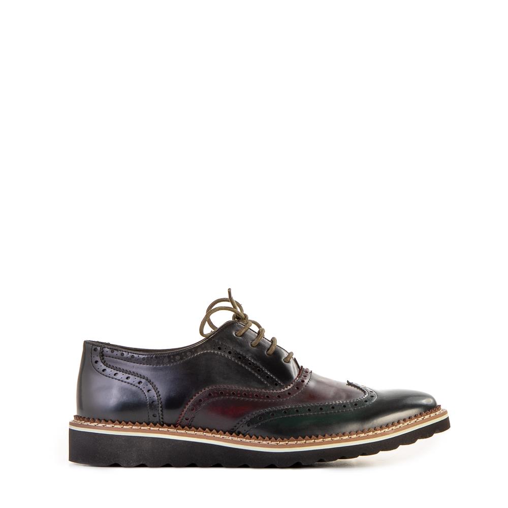 Pantofi barbati Silviu verde inchis