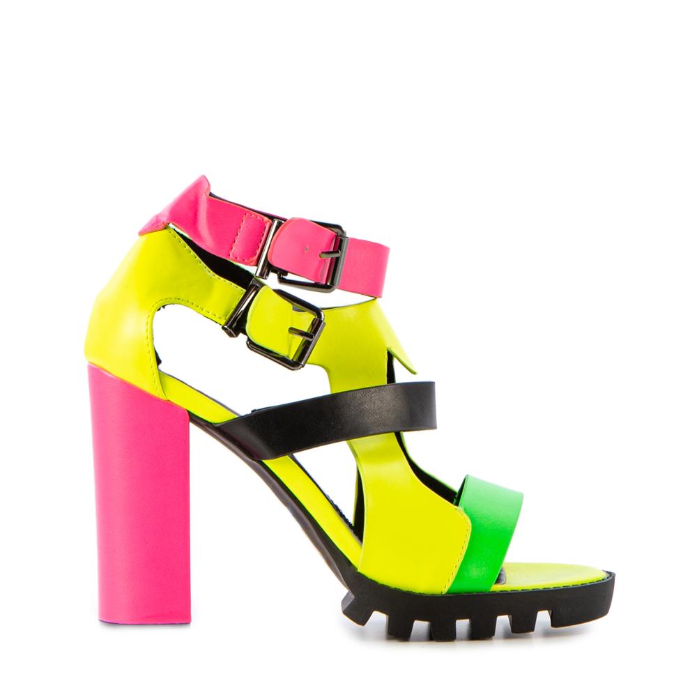 Sandale dama Monica fuchsia