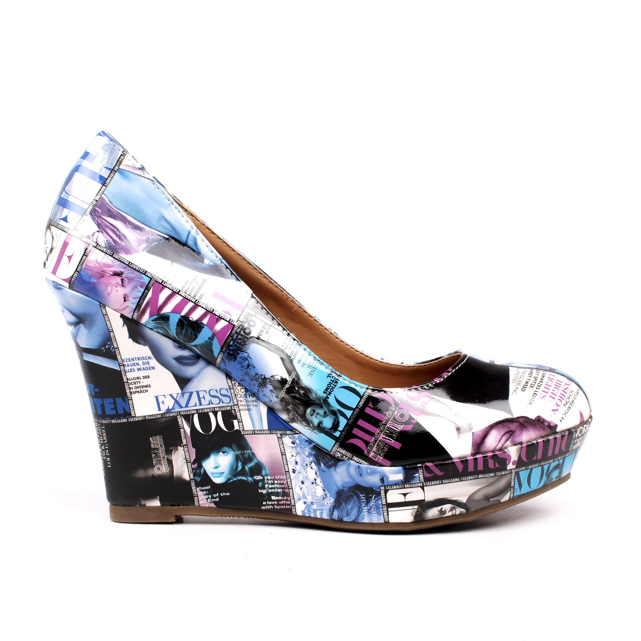 Pantofi dama Lucky albastri
