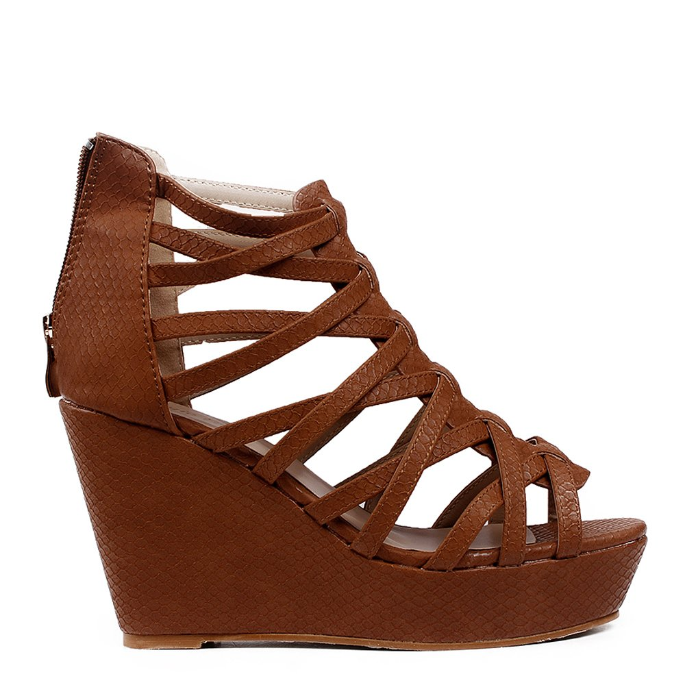 Sandale Dama Carmen Camel