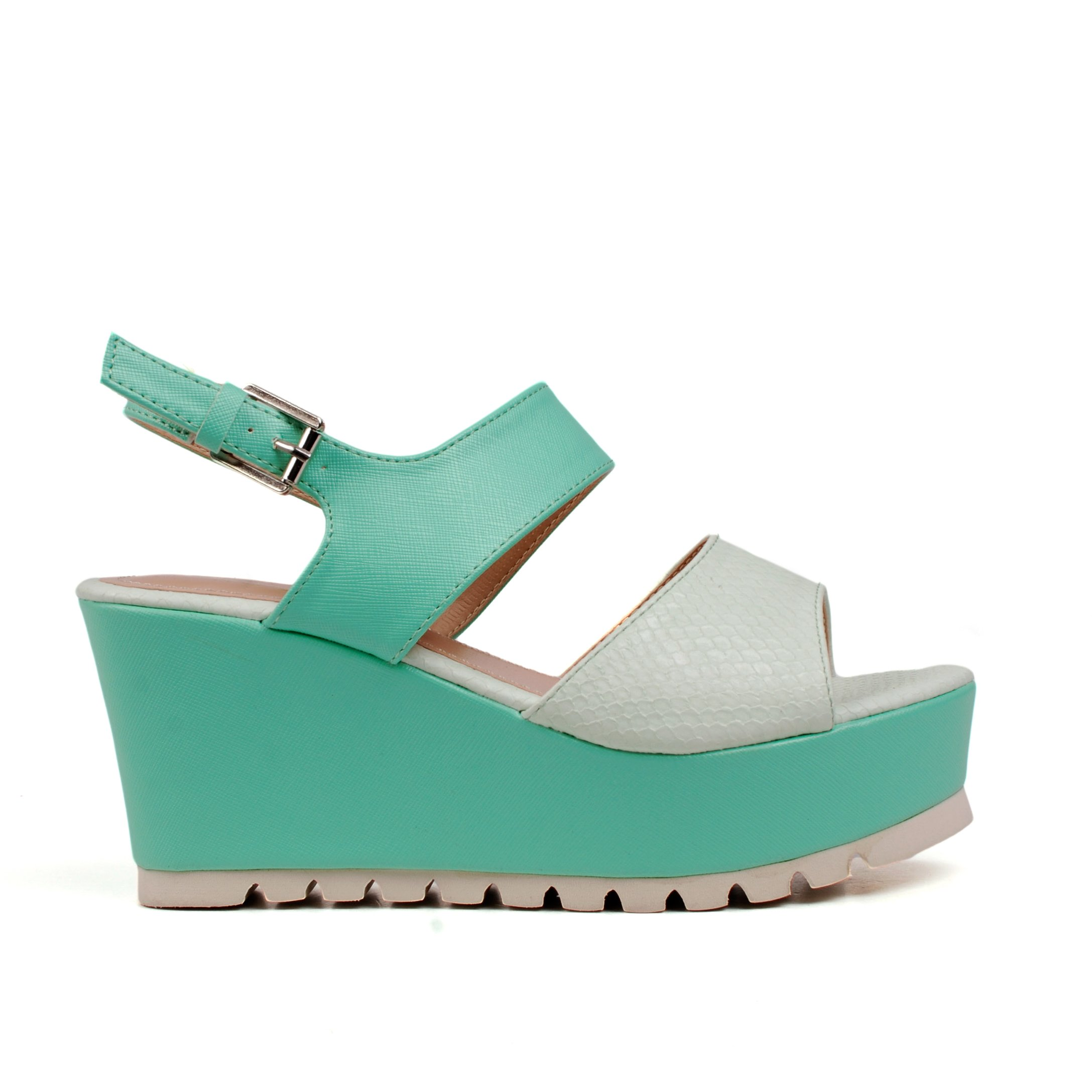 Sandale dama R163 verzi