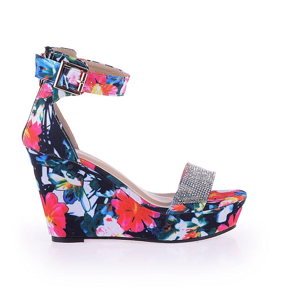 Sandale dama Ally multicolor