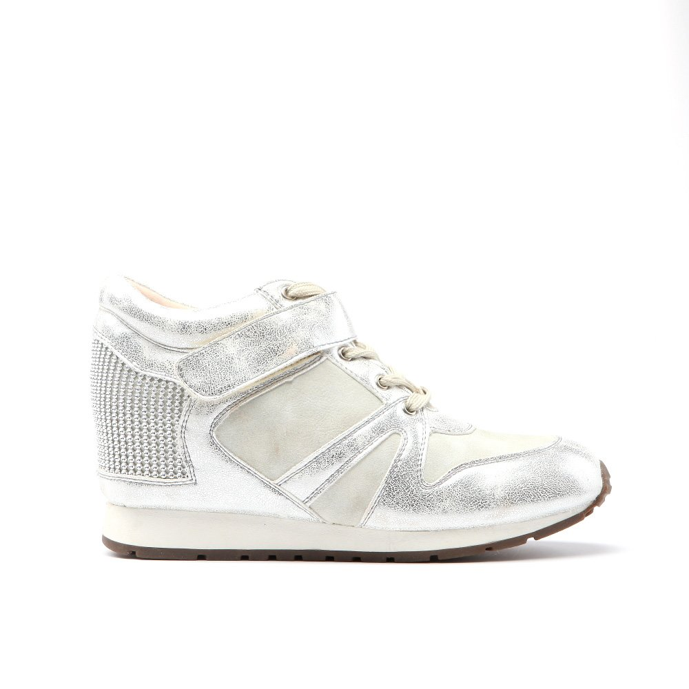 Sneakers dama Deedee argintiu