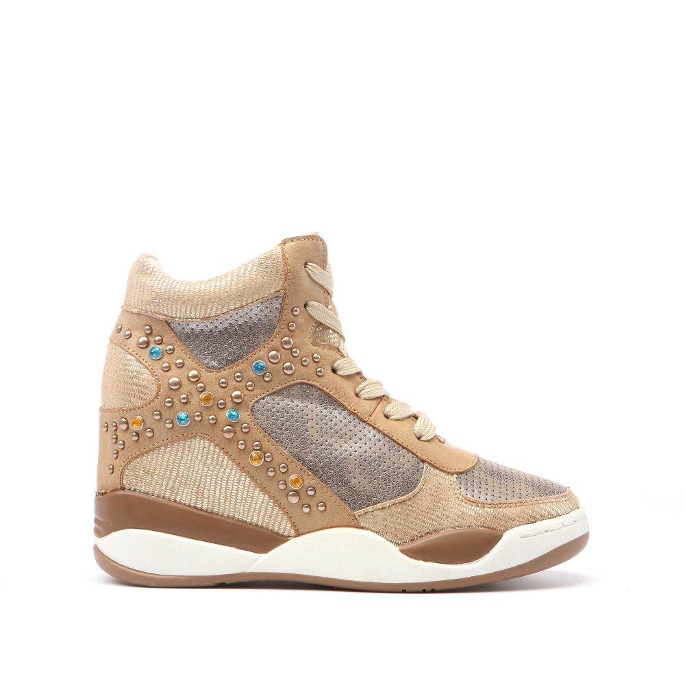 Sneakers dama Doree camel