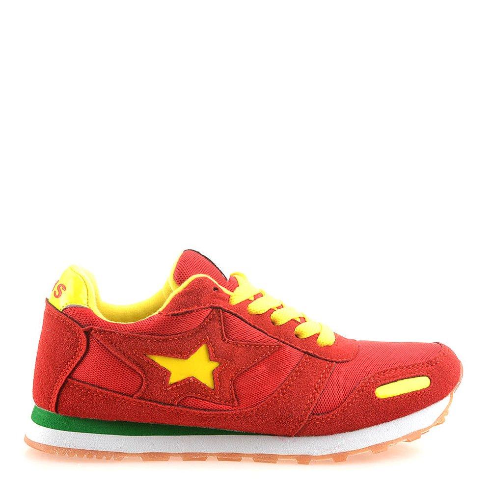 Pantofi Sport Dama Geraldine Rosii