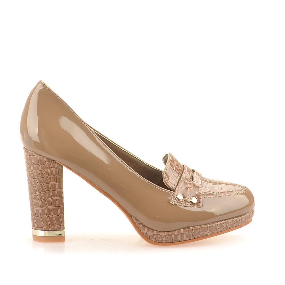 Pantofi Dama Constance Khaki