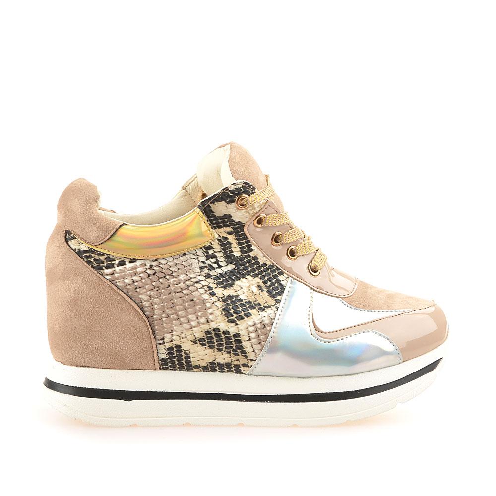 Sneakers dama Lara bej