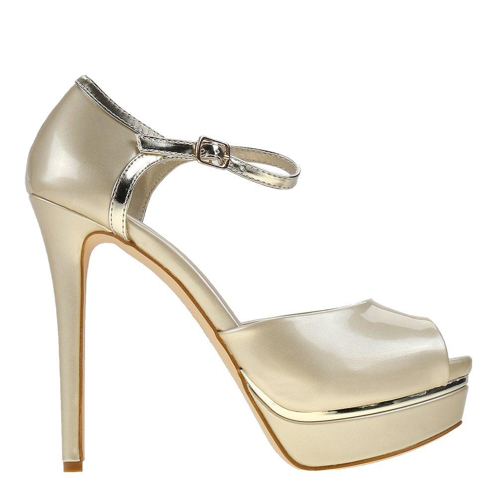 Sandale dama Livianna aurii