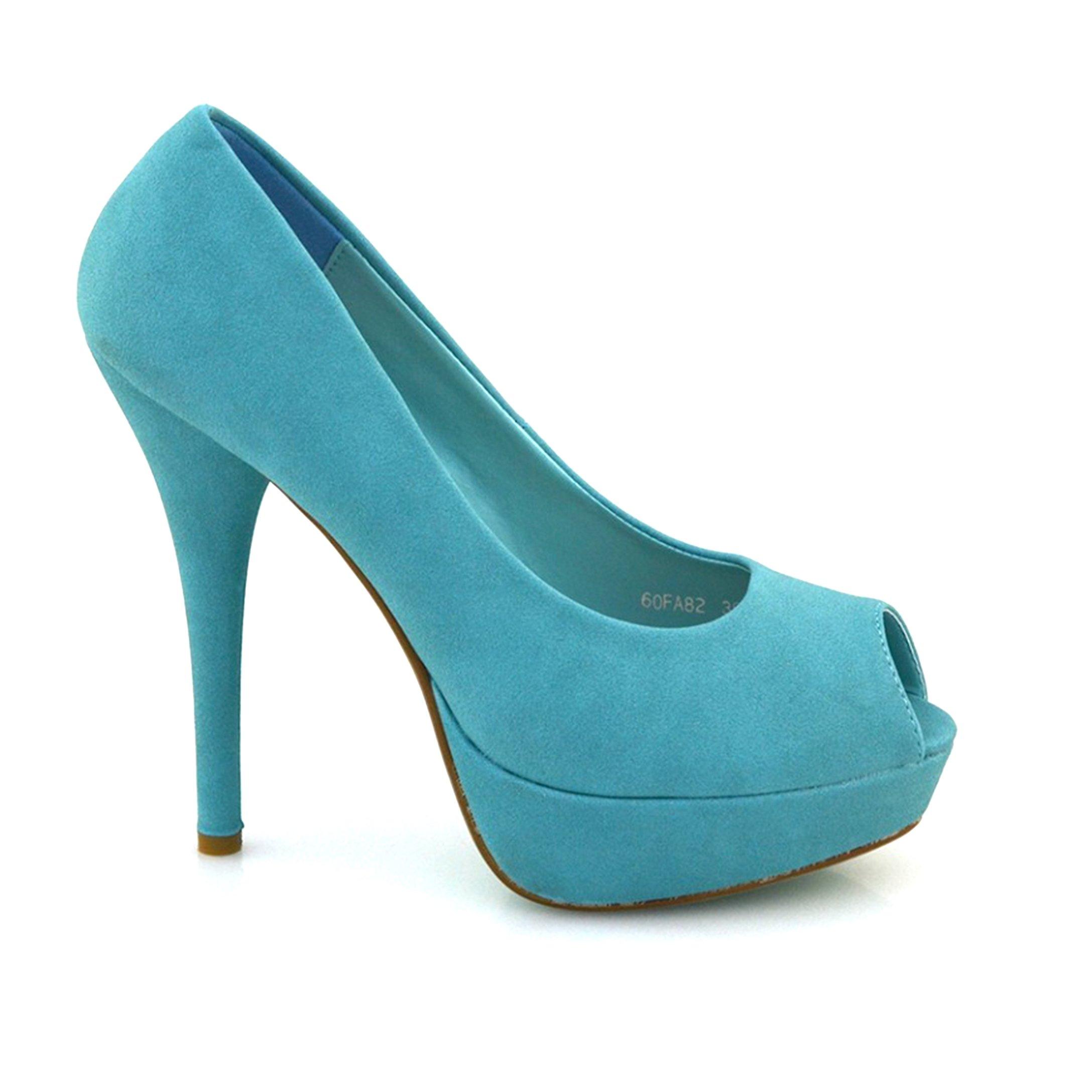 Pantofi Dama Kimmy Albastri