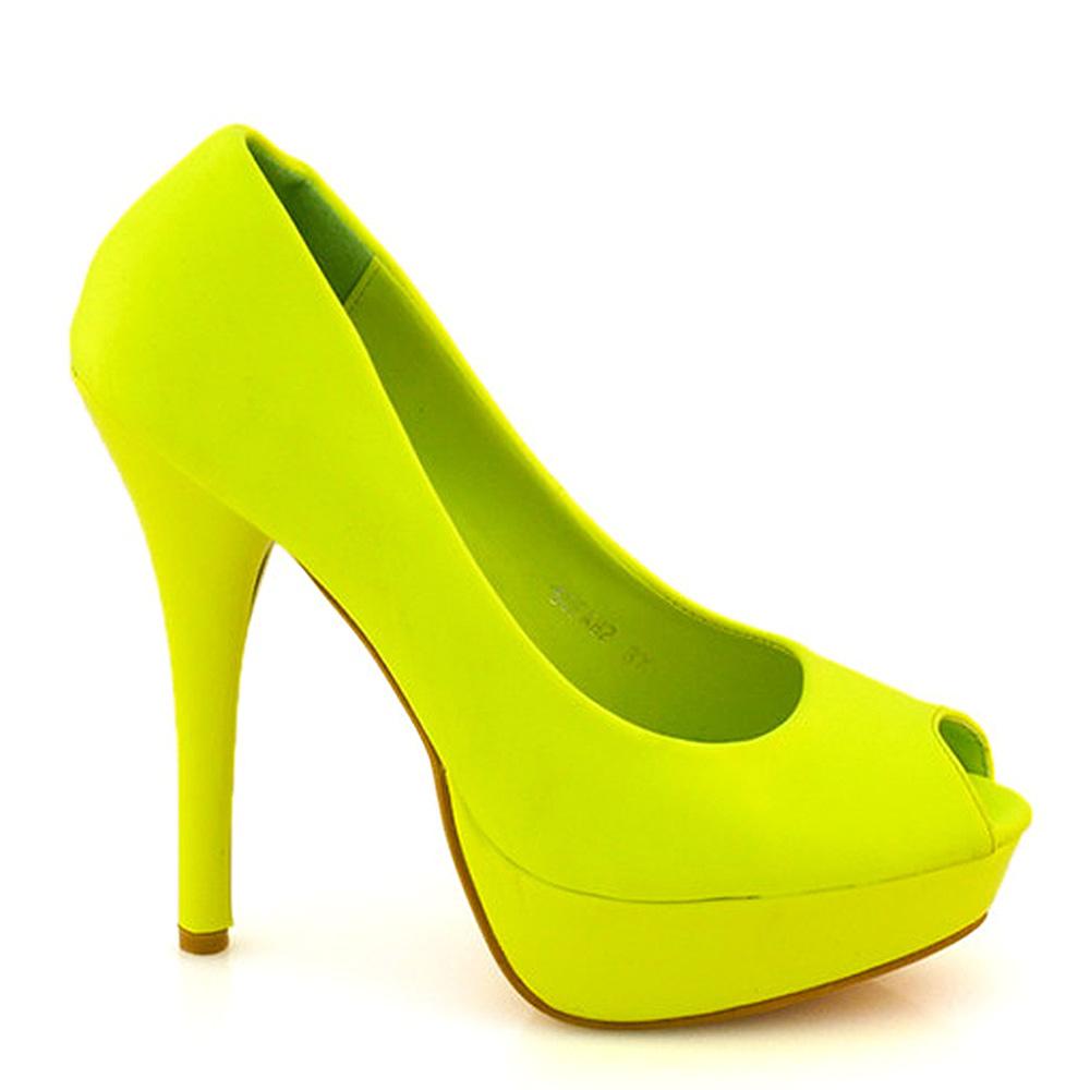 Pantofi Dama Kimmy Galbeni
