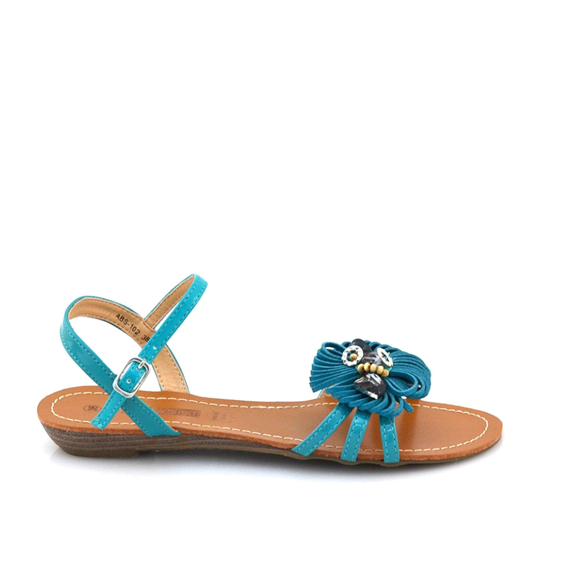 Sandale dama Lory albastre