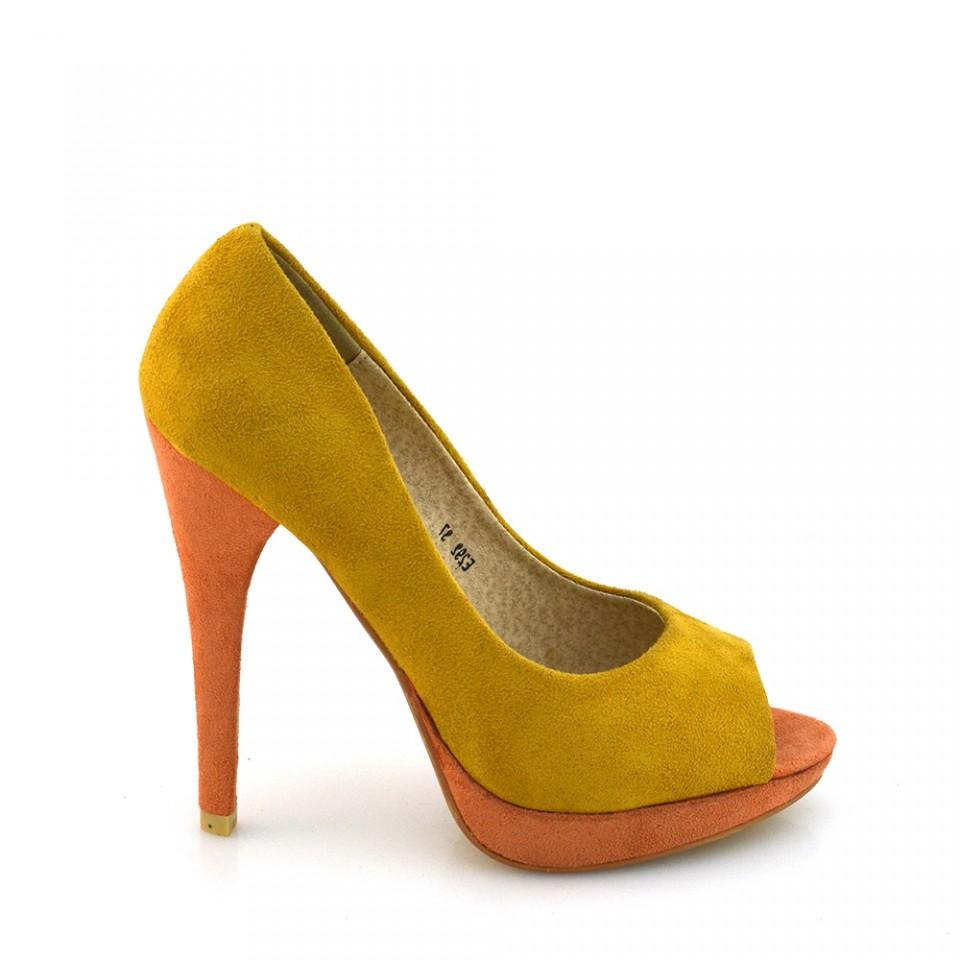 Pantofi Dama Maddy Galbeni