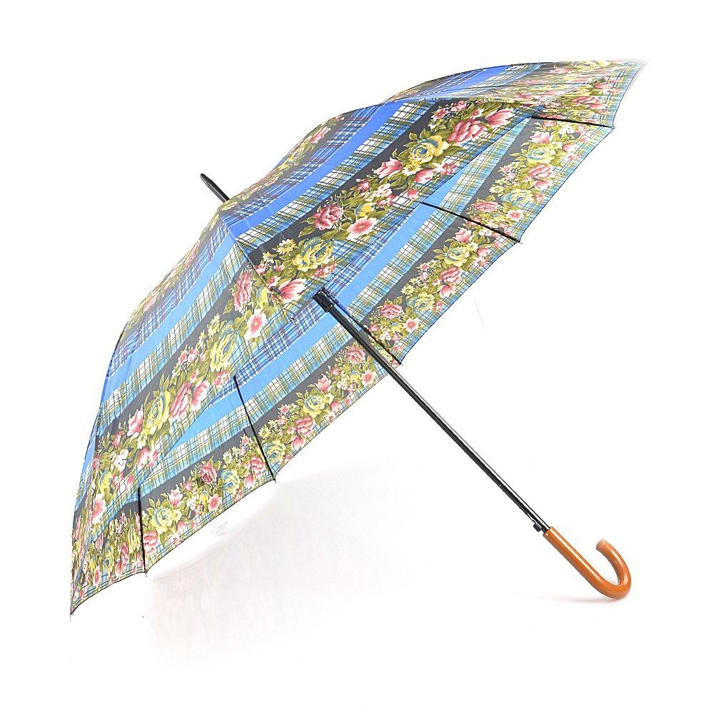Umbrela Dama 202nd Albastra Cu Print Floral