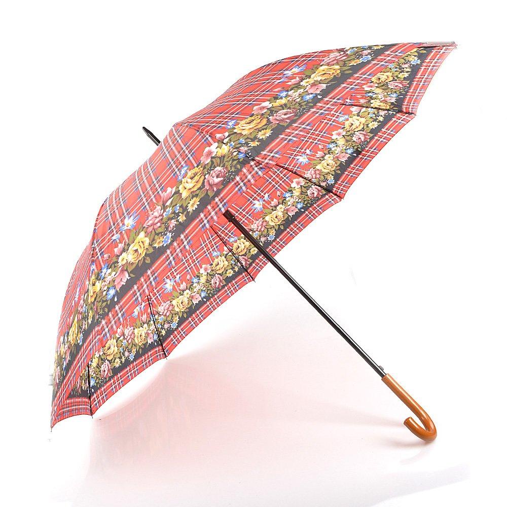 Umbrela dama 202ND rosie cu print floral