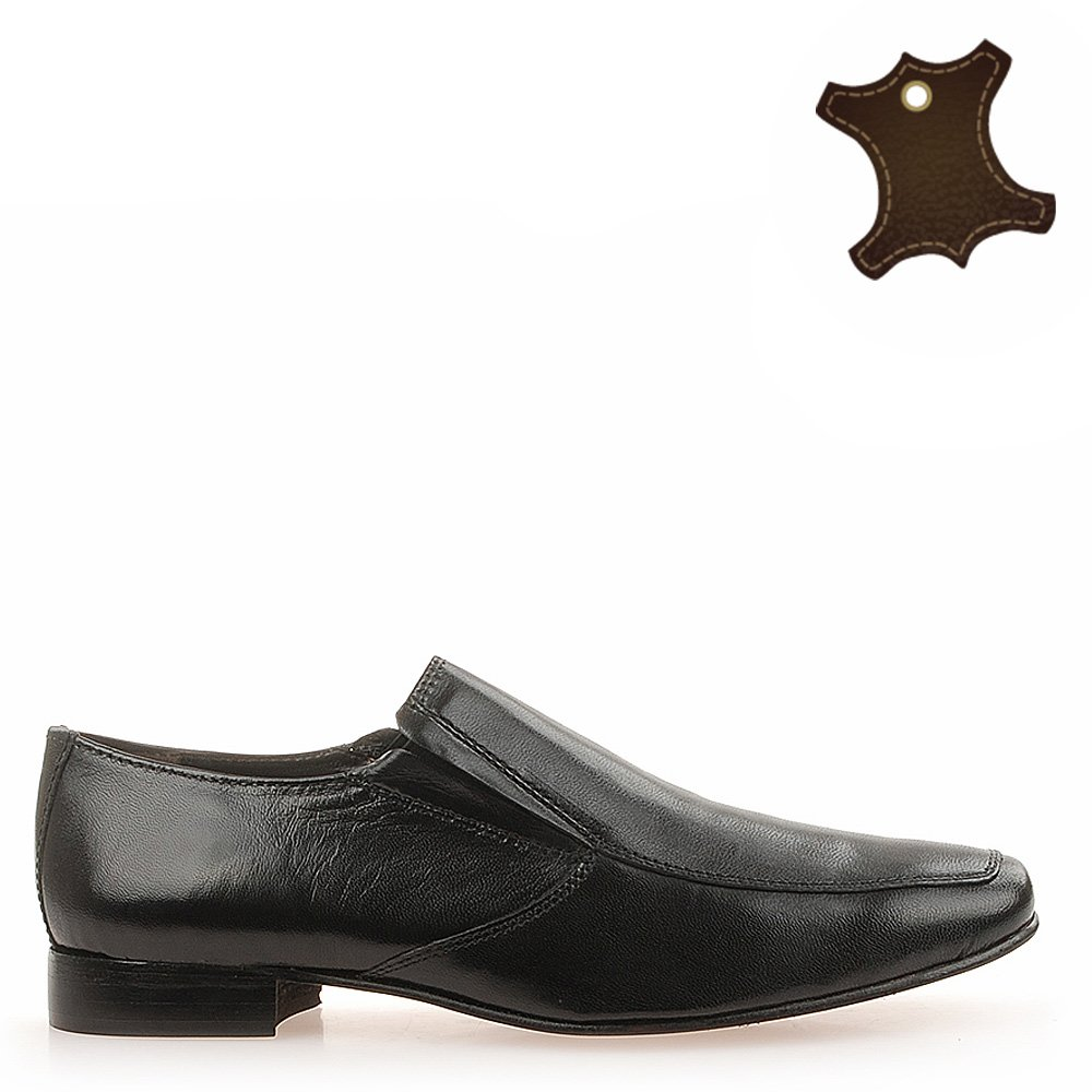 Pantofi Barbati Piele Quick Negri